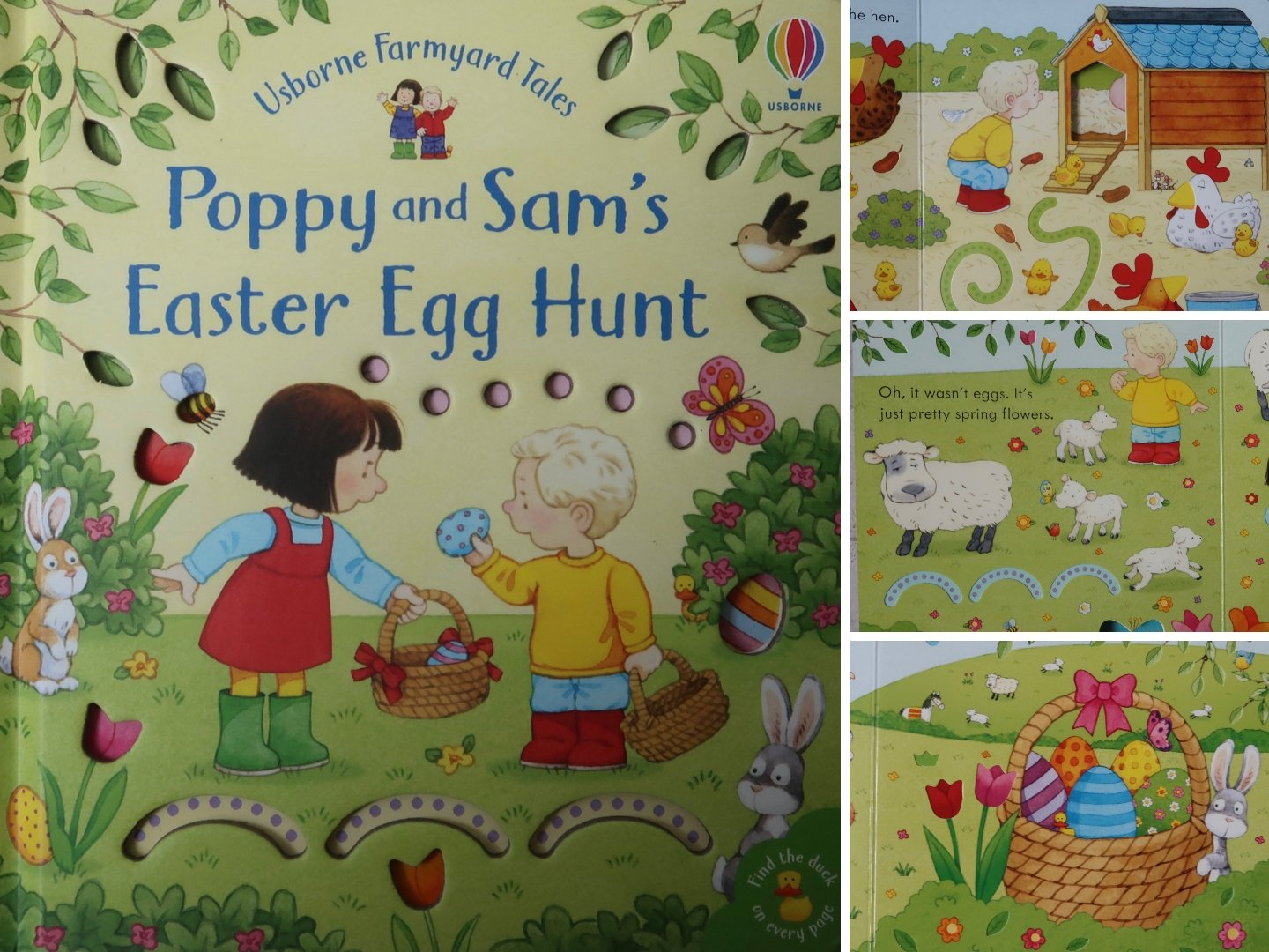 Poppy and Sam's Easter Egg Hunt - Easy Easter egg decorating activity.
