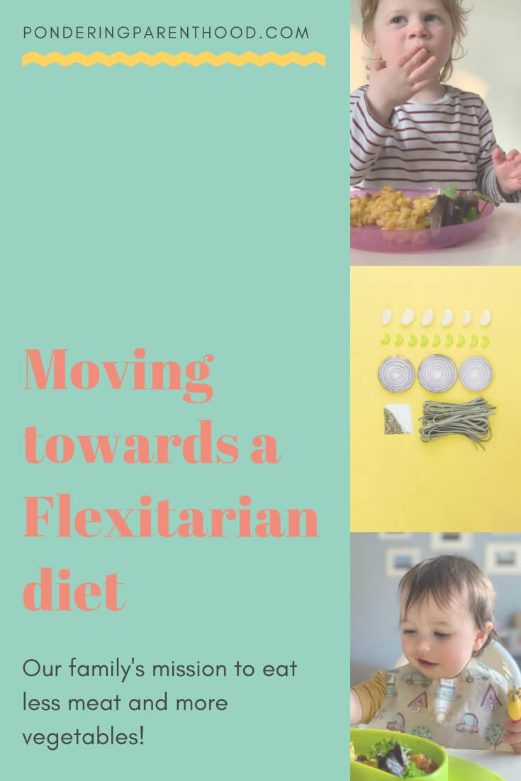 Looking to try a #flexitarian diet? Read about how we're trying to eat less meat and more veggies!